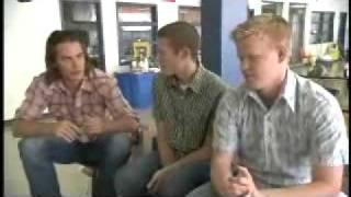 Taylor Kitsch , Zach Gilford & Jesse Plemons - Speaking on S3.flv