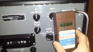 Collins 39p radioactive panel meters