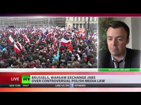 EU backlash? Brussels threatens sanctions over new Polish media law