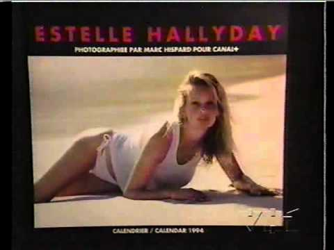 Estelle Hallyday (Lefébure-Essebag) - supermodel - report 1994