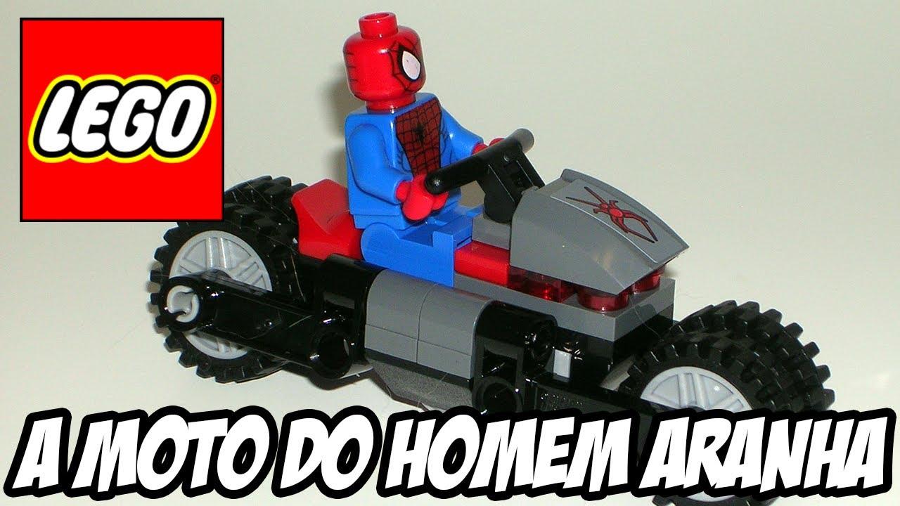 Lego Marvel Super Heroes Moto Do Homem Aranha YouTube
