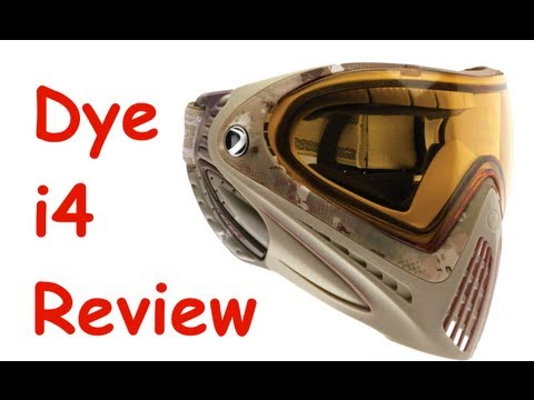 Dye Invision i4 Paintball/Airsoft Mask Review