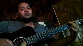 টিপ টিপ বৃষ্টি (Sheikh Ishtiak song)- acoustic cover by Shazzat Udash