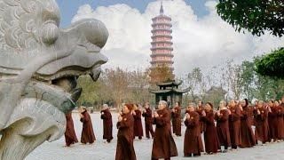 Thượng tọa :Thích Minh Quang chia sẻ Phật Pháp tại chùa Bái Đính