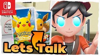 Pokemon Lets Go Pikahcu & Lets Go Eevee Discussion & Showdown Viewer Battles! (Lets Talk)