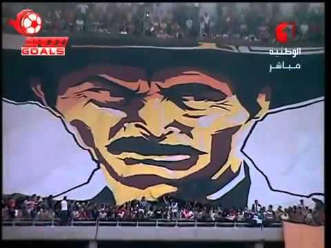 Tifo Club Africain vs Esperance Sportive de Tunis 14 10 2015