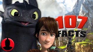107 How To Train Your Dragon Facts YOU Should Know! - (Tooned Up #259) | ChannelFrederator