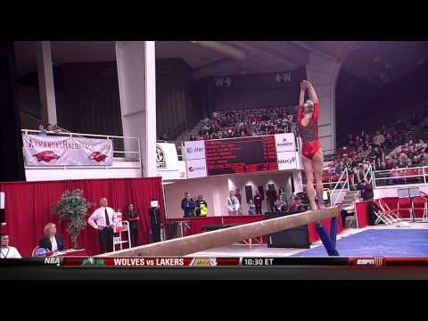 Women's College Gymnastics - 2013-02-22 - Alabama at Arkansas