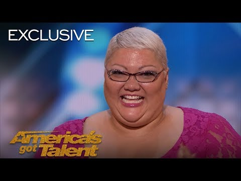 Christina Wells Gets Emotional While Opening Up About Her Performance - America's Got Talent 2018