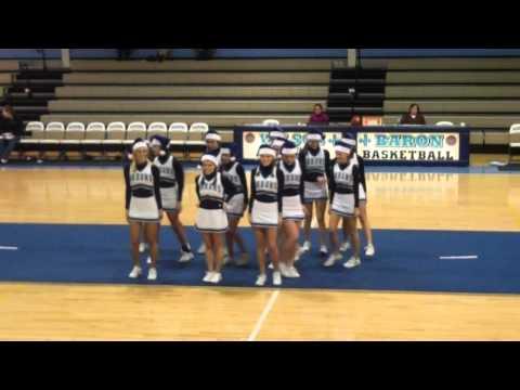 Wilson Hall Varsity Cheerleaders Christmas Dance cheer 2011 video