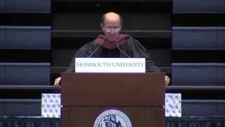 Jon Kilik Commencement speech at Monmouth University