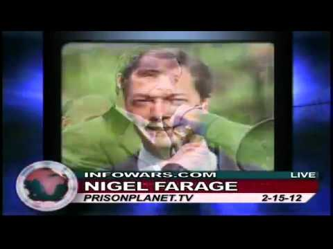 Nigel Farage 2012 On the EU takeover of Greece and Italy.