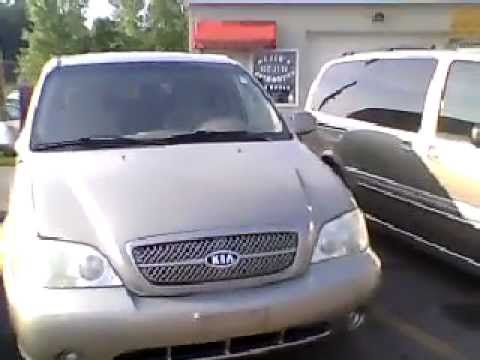 2004 Kia Sedona LX Walkaround & Review
