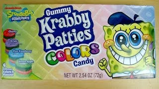 SpongeBob - Gummy Krabby Patties - Colors Candy
