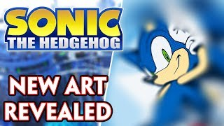 NEW OFFICIAL SONIC ART REVEALED & WHY IT'S IMPORTANT