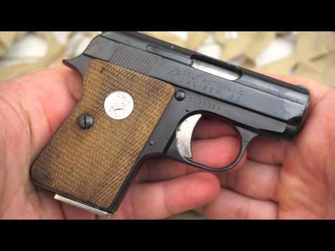 Colt Automatic Junior Vest Pocket 25ACP Pocket Pistol Overview - Texas Gun Blog
