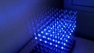 LED cube test program