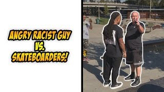 Skaters Vs Haters 47 Skateboarders Vs Angry People 2018 Skateboarding Compilation