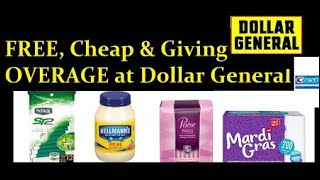 Run to Dollar General!! 12/10 Dollar General Haul **OVERAGE**