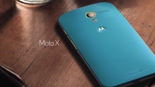 Motorola MOTO X - Presentación y Funciones [Presentation w/subs]