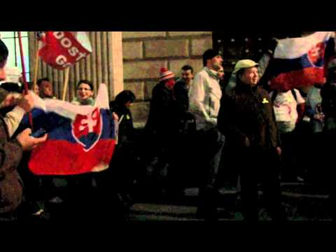 Rally Against Political Corruption In Slovakia