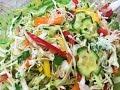 САЛАТ ИЗ КАПУСТЫ И ОГУРЦОВ. Всеми любимый салат. Просто и вкусно!   Cabbage salad with cucumbers.