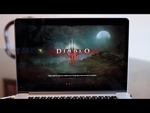 Gaming on the 2012 Retina MacBook Pro: Diablo III (2880 x 1800...