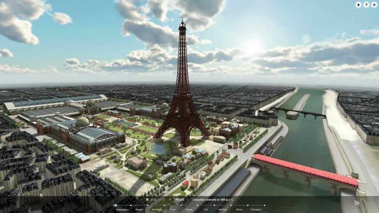 Paris 3d saga l 39 exp rience en ligne dassault syst mes for Parati in 3d