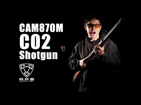 Why APS's CAM870 Shotgun Brings You To The Edge of Real!  - RedWolf Airsoft RWTV
