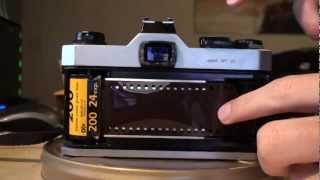 How to load a 35mm Film SLR