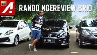 Review Honda Brio RS 2016 with Laurentius Rando