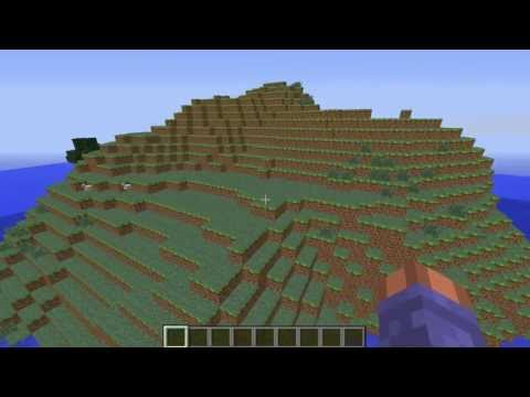 Amazing Survival Island hill Minecraft seed [1.5.2]
