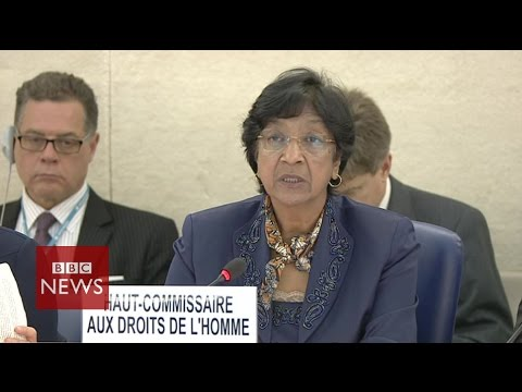 Israel action in Gaza 'could be war crimes' says UN's Navi Pillay - BBC News