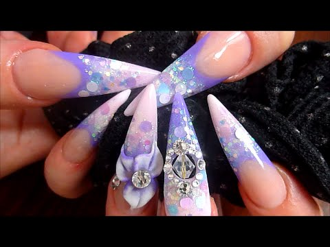 FAIRY KEI - ACRYLIC NAIL COLLABORATION WITH UNIQUENAILZ | ABSOLUTE NAILS