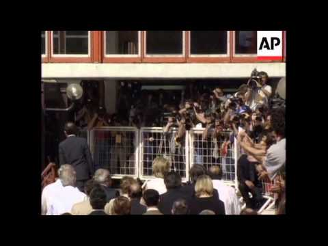 ARGENTINA: OVER 400 JOURNALISTS ARE COVERING PRINCESS DIANA'S VISIT