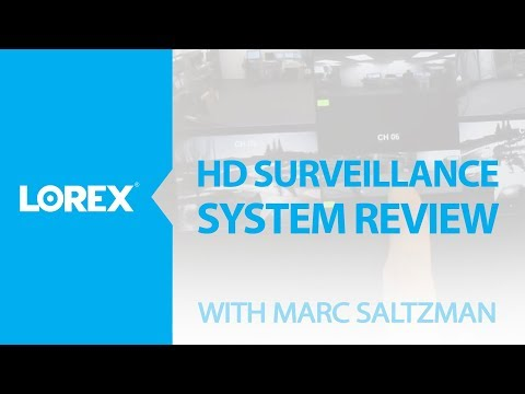 Marc Saltzman talks about Lorex HD-SDI Surveillance