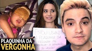 PLAQUINHA DA VERGONHA NELA! - POSTS DA WEB