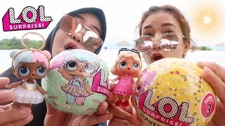 UNBOXING LOL SURPRISE SERIES 3 DI PANTAI RARE ASLI
