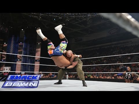 Jey Uso Vs. Erick Rowan: Wwe Smackdown, June 13, 2014 video