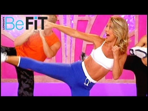 Denise Austin: Kickboxing Cardio Fat Blast Workout Image 1