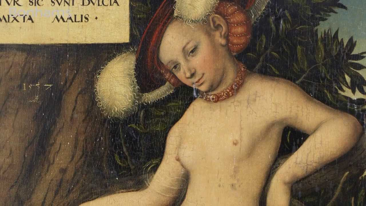 Cranach The Elder Venus And Cupid Cranach The Elder Quot Venus