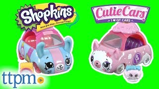 Shopkins Cutie Cars Color Change Cuties from Moose Toys