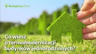 Co wiesz o termomodernizacji budynków jednorodzinnych? Ekoprezent: audycja Zet Gold