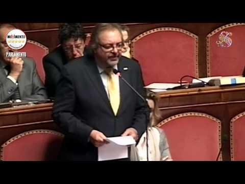 Sparatoria tribunale di Milano, l'intervento di Mario Giarrusso in Senato