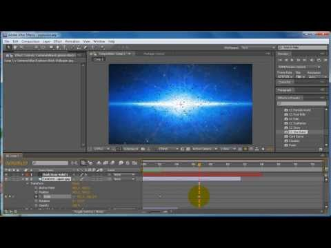 Adobe After Effects Cs5 Tutorial - How To Make A Simple Explosion video