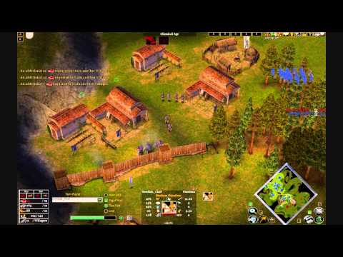 Age of mythology the TITANS 1V1 1900+ online match