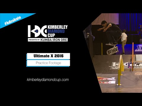 Practice: 2016 KDC Grand Slam Cape Town Regional Qualifiers at Ultimate X