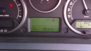 Land Rover Discovery 3 TDV6 HSE Feul consumption LR3 vs Hilux