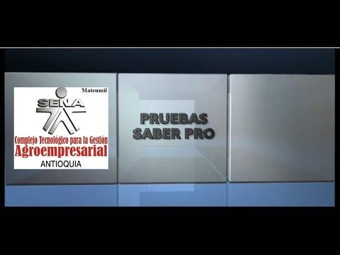 Pruebas Saber Pro SENA 2014
