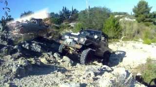 Jeep Wrangler Vs Suzuki Samurai - GoExtreme Action Camera